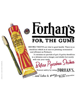 Forhans Ad