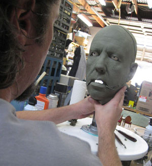 Akeley face sculpt