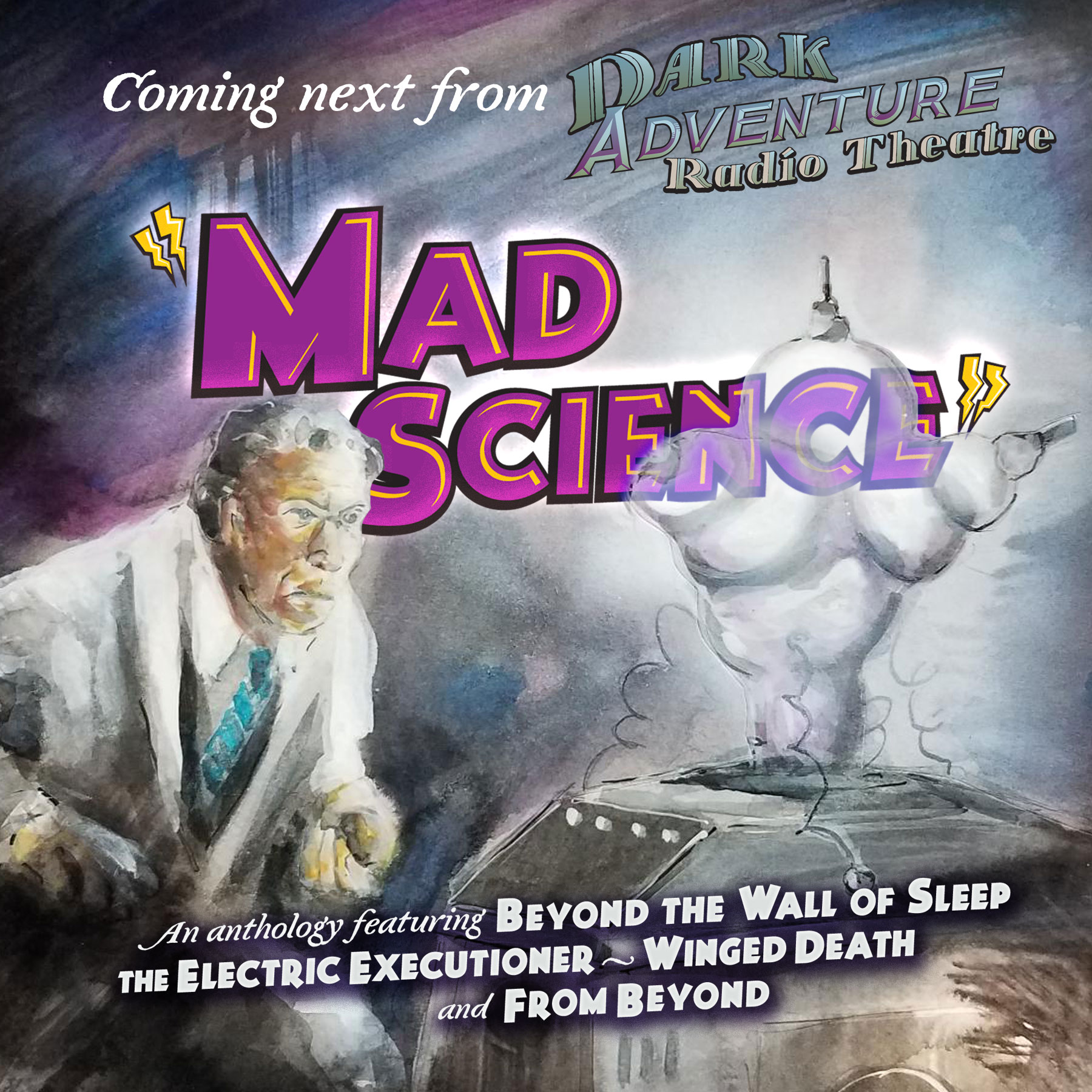 Mad Science cover mockup