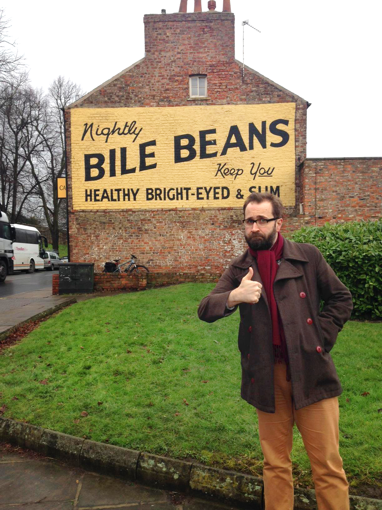Greig Johnson pimps Bile Beans