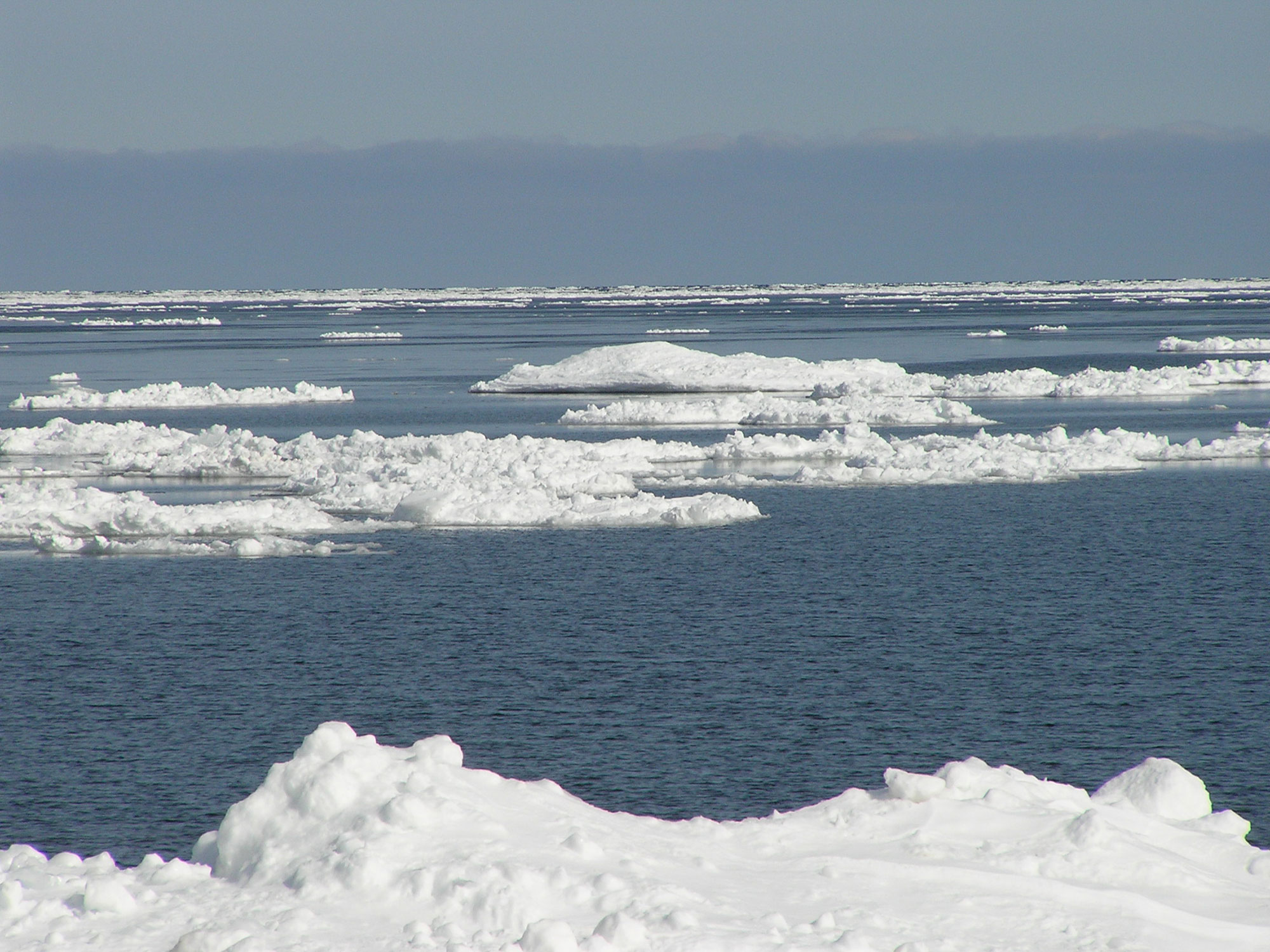 Lake Superior in March
