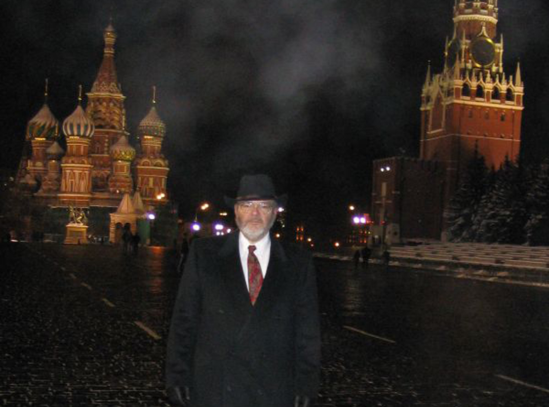 David Laughton in Moscow