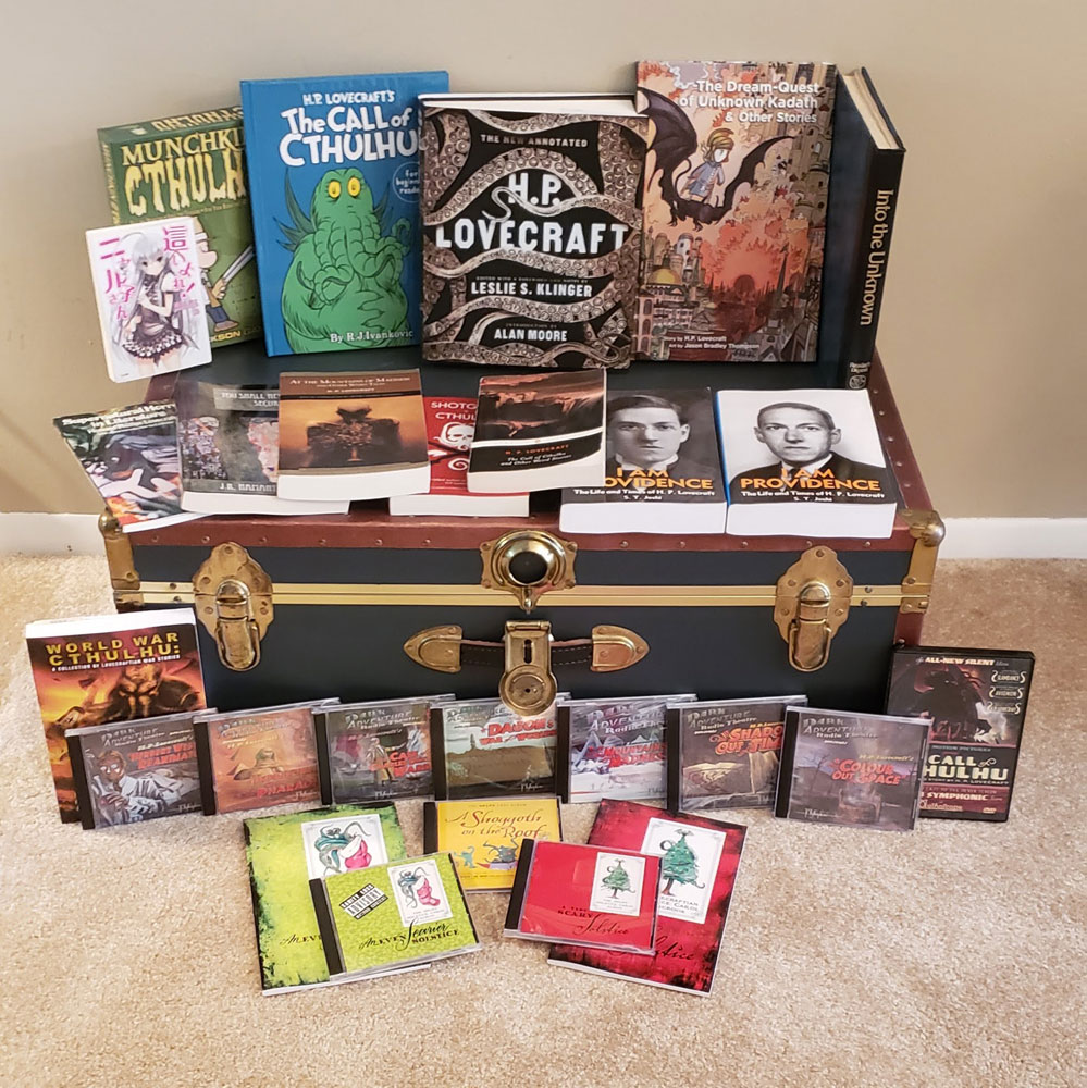 HPLHS - The H P  Lovecraft Historical Society