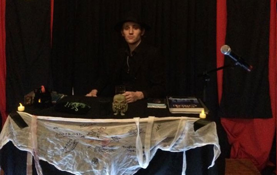 Jack Duddington at a Call of Cthulhu live theatre event