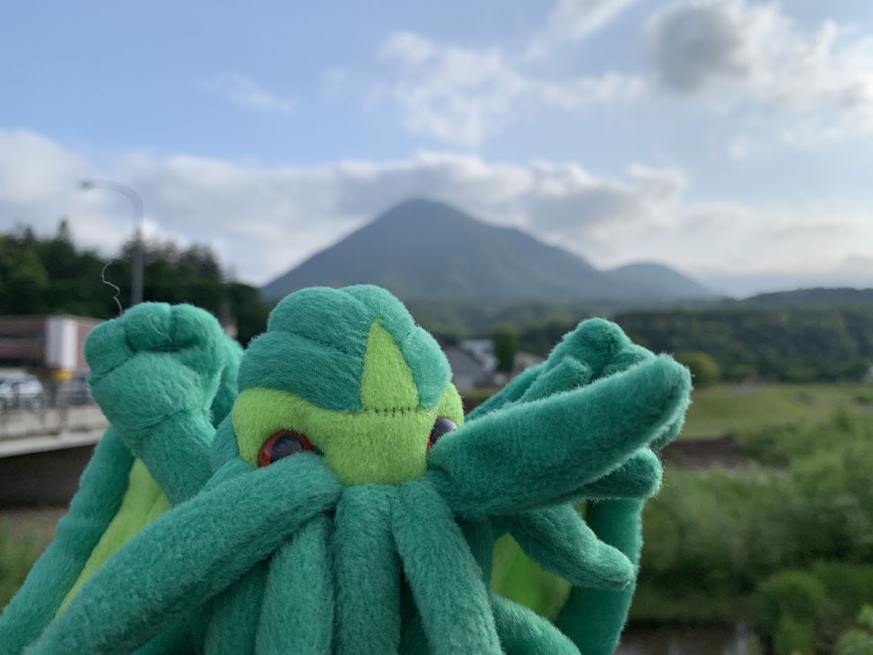 Cthulhu and Mt. Yotei