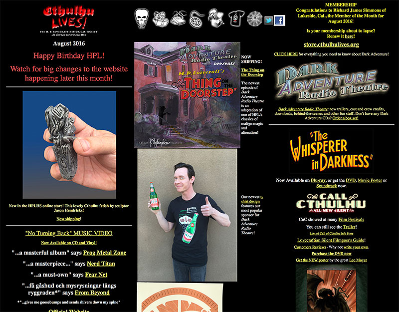 Old Web Site