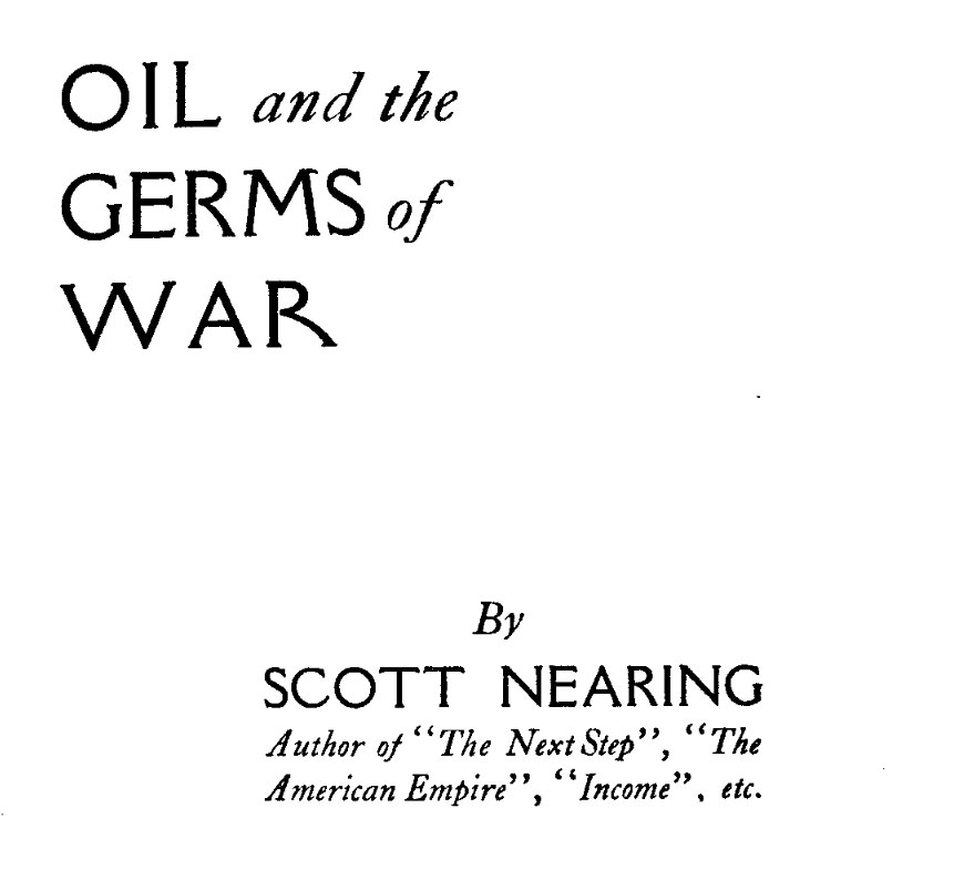 Nearing title page